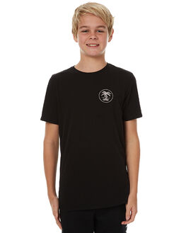 BLACK KIDS BOYS SWELL TEES - S3173004BLK