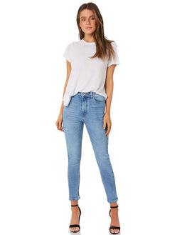 76 VINTAGE WOMENS CLOTHING RES DENIM JEANS - RW070376V