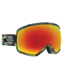 CAMO BROSE RED BOARDSPORTS SNOW ELECTRIC GOGGLES - EG2418201CMOR