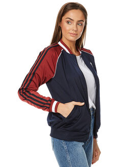 LEGEND INK RED WOMENS CLOTHING ADIDAS ORIGINALS JUMPERS - BJ8318INK