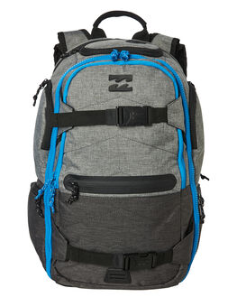 GREY HEATHER MENS ACCESSORIES BILLABONG BAGS + BACKPACKS - 9685002GRYH