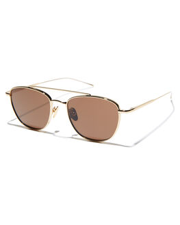 GOLD MENS ACCESSORIES SUNDAY SOMEWHERE SUNGLASSES - SUN166-GOL-SUNGLD