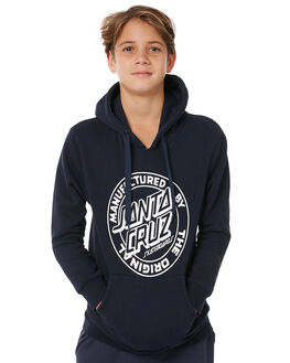 NAVY KIDS BOYS SANTA CRUZ JUMPERS + JACKETS - SC-YFC8109NVY