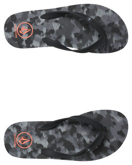 CAMOUFLAGE MENS FOOTWEAR VOLCOM THONGS - V0811885CAM