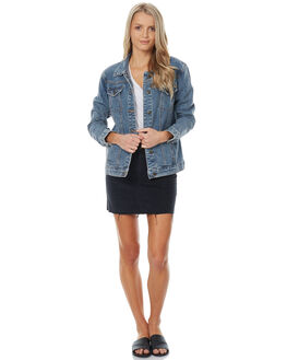 DENIM WOMENS CLOTHING THE HIDDEN WAY JACKETS - H8173382DENIM