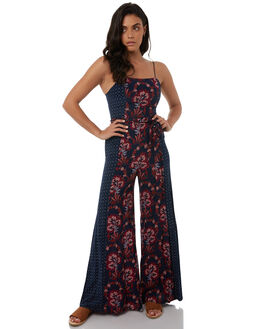 PATCHWORK WOMENS CLOTHING TIGERLILY PLAYSUITS + OVERALLS - T383420PATCH
