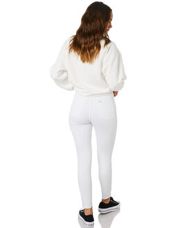 EX WHITE WOMENS CLOTHING RIDERS BY LEE JEANS - R-551333-DW7