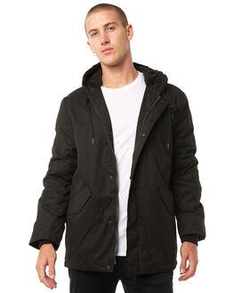 BLACK MENS CLOTHING SWELL JACKETS - S5173384BLACK