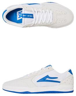 WHITE MENS FOOTWEAR LAKAI SNEAKERS - MS4190082A00WHT