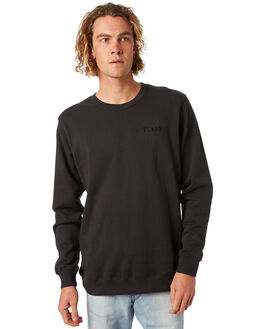 BLACK MENS CLOTHING THE CRITICAL SLIDE SOCIETY JUMPERS - FC1806BLK