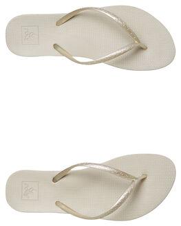 SILVER WOMENS FOOTWEAR REEF THONGS - A3OL8SIL