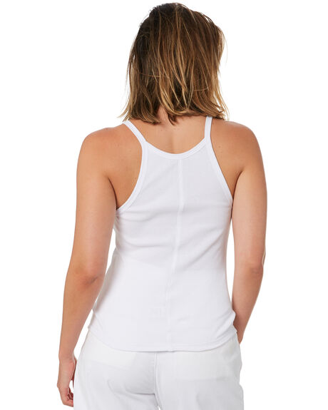 WHITE WOMENS CLOTHING STUSSY SINGLETS - ST102207WHT