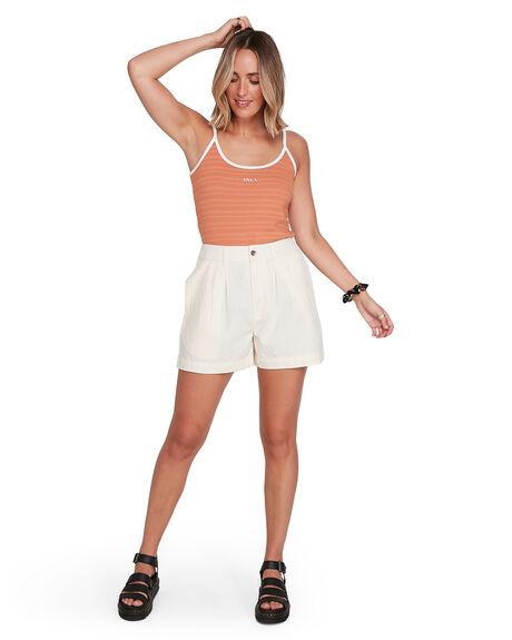 CANYON ROSE WOMENS CLOTHING RVCA SINGLETS - RV-R206703-845
