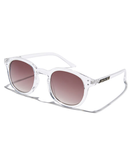CLEAR MENS ACCESSORIES SANTA CRUZ SUNGLASSES - SC-MAC9319-3CLCLR