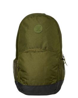LEGION GREEN MENS ACCESSORIES HURLEY BAGS + BACKPACKS - HU0097331
