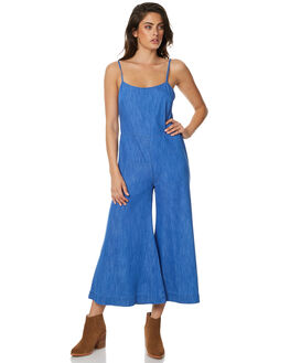 INDIGO ROYAL WOMENS CLOTHING TIGERLILY PLAYSUITS + OVERALLS - T371434IND