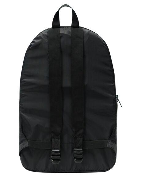 BLACK MENS ACCESSORIES HERSCHEL SUPPLY CO BAGS + BACKPACKS - 10614-01409-OSBLK