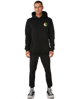 BLACK FADE MENS CLOTHING TOWN AND COUNTRY JUMPERS - TFL310DBLKFD