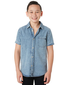 ACID CHAMBRAY KIDS BOYS RIDERS BY LEE TOPS - R-30122T-LL6