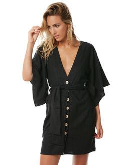 BLACK WOMENS CLOTHING RUE STIIC DRESSES - S118-88BLK