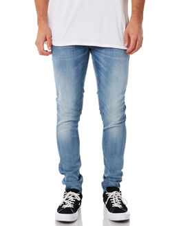 SLOWLY WORN MENS CLOTHING NUDIE JEANS CO JEANS - 112706SLOWR