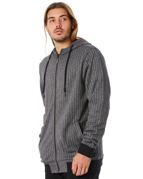BLACK OUTLET MENS EZEKIEL JUMPERS - EF174019BLK