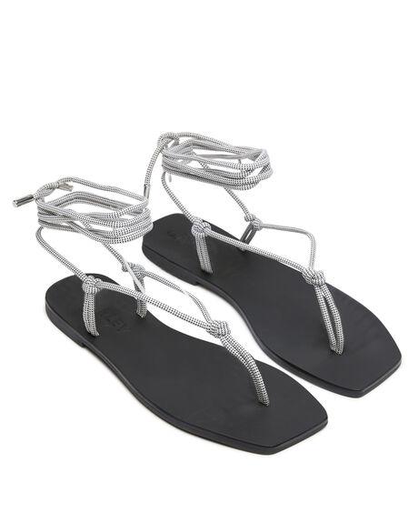WHITE WOMENS FOOTWEAR CAVERLEY FASHION SANDALS - 202S132SWHI