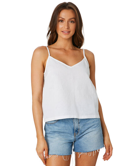 WHITE WOMENS CLOTHING SWELL FASHION TOPS - S8202003WHI