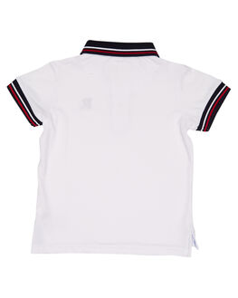 WHITE KIDS TODDLER BOYS ROOKIE BY THE ACADEMY BRAND TOPS - R19S402WHT