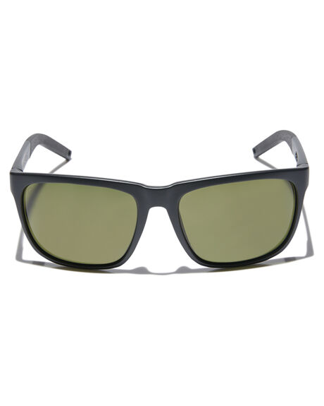 MATTE BLACK STRIPE MENS ACCESSORIES ELECTRIC SUNGLASSES - EE16065242MBKBS