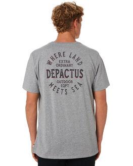 GREY MARLE MENS CLOTHING DEPACTUS TEES - D5202007GRYMA