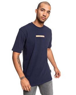 BLACK IRIS MENS CLOTHING DC SHOES TEES - UDYZT03685-BTL0