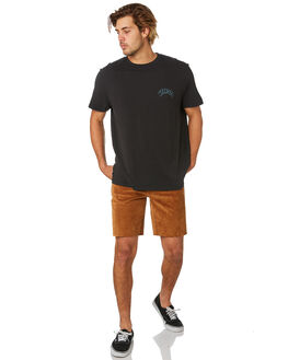 WORN BLACK MENS CLOTHING WRANGLER TEES - W-901682-082WBLK