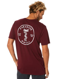 BURGUNDY MENS CLOTHING SWELL TEES - S5193018BURGY