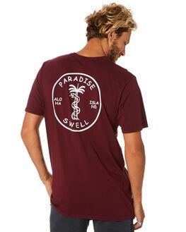 BURGUNDY MENS CLOTHING SWELL TEES - S5193018BURGY