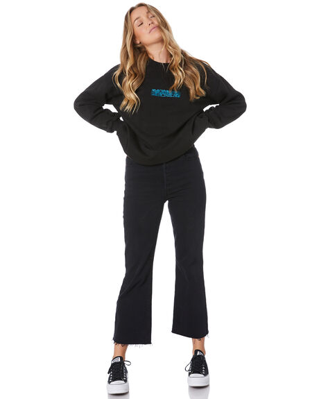 BLACK WOMENS CLOTHING RUSTY JUMPERS - FTL0723BLK