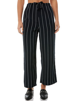 NAVY STRIPE WOMENS CLOTHING RVCA PANTS - R283271NAVY