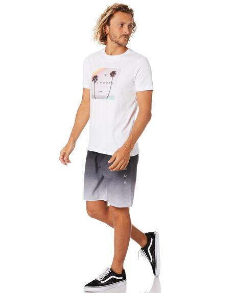 WHITE MENS CLOTHING RIP CURL TEES - CTEMS91000