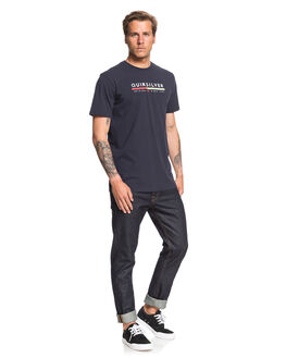 NAVY BLAZER MENS CLOTHING QUIKSILVER TEES - EQYZT05665-BYJ0