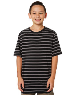 BLACK KIDS BOYS RUSTY TOPS - TTB0614BLK