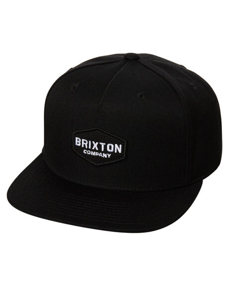 BLACK MENS ACCESSORIES BRIXTON HEADWEAR - 00758BLK