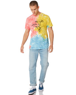 MULTI MENS CLOTHING RVCA TEES - R393047MULTI