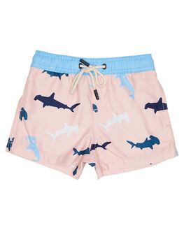 PINK KIDS TODDLER BOYS ROOKIE BY THE ACADEMY BRAND BOARDSHORTS - R19S701PNK