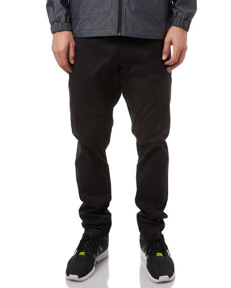 BLACK MENS CLOTHING RVCA PANTS - R371272BLK