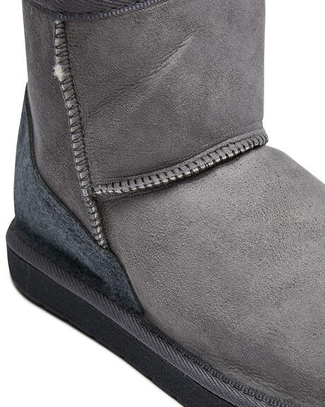 CHARCOAL WOMENS FOOTWEAR UGG AUSTRALIA UGG BOOTS - MINCHAR