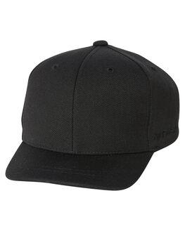 BLACK KIDS BOYS FLEX FIT HEADWEAR - 163Y101-BLK-TDLBLK