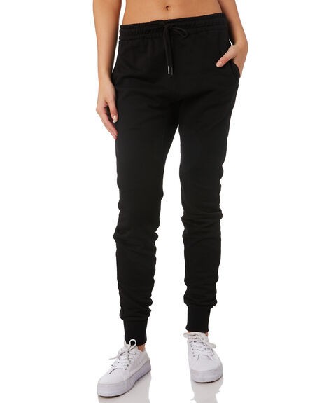 BLACK WOMENS CLOTHING RUSTY PANTS - PAL1112BLK