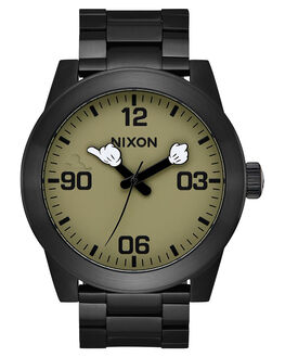 BLACK SURPLUS MENS ACCESSORIES NIXON WATCHES - A3463094BLKSU