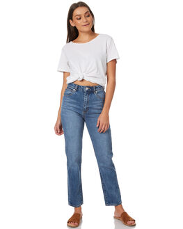 WALLFLOWER WOMENS CLOTHING A.BRAND JEANS - 71166WALL