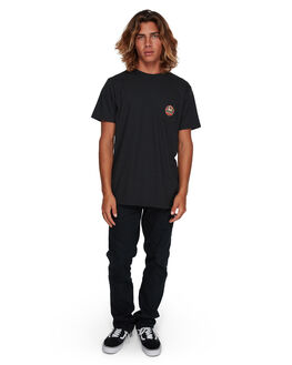 BLACK MENS CLOTHING BILLABONG TEES - BB-9591021-BLK
